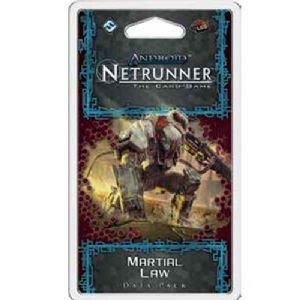 Android : Netrunner : Flashpoint Cycle – Martial Law Data Pack
